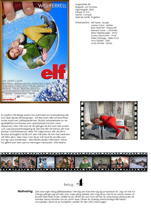 Filmrecension: Elf