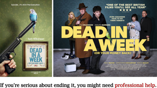Filmrecension: Dead in a Week (Or Your Money Back)