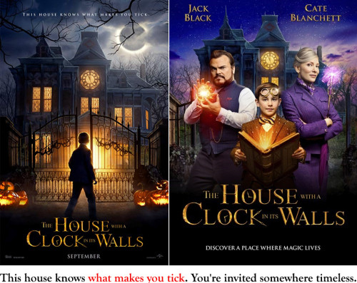 Filmrecension:  The House with a Clock in Its Walls