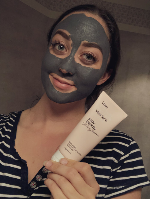 Review Indy Beauty Mud Mask