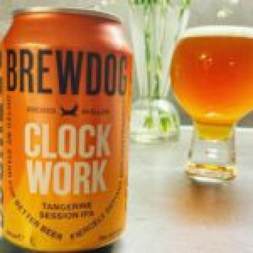 Brewdog Clockwork Tangerine Session IPA 4,5%